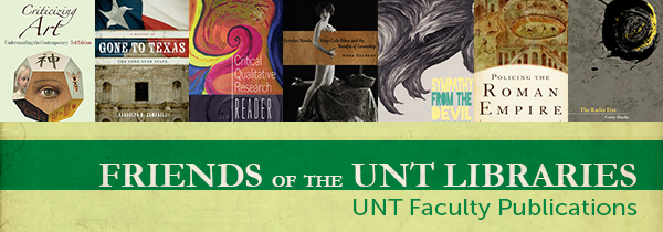 Friends of the Library Faculty Publciations Graphic