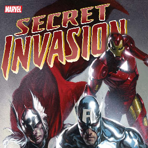 "Secret Invasion"" cover via Marvel Comics"