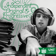 Book cover of Independent, Original and Progressive Celebrating 125 Years of UNT