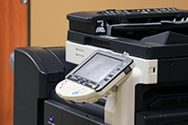 black copier printer