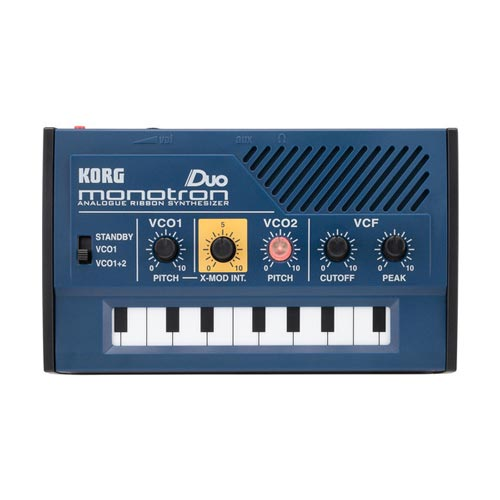 Korg monotron DUO Dual Oscillator Ribbon Synthesizer