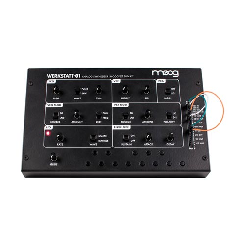 Moog Werkstatt-01: Moogfest 2014 Kit Analog Synthesizer