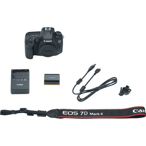 Canon camera with accessories
