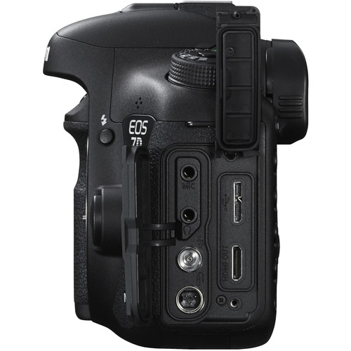 Canon camera body side view