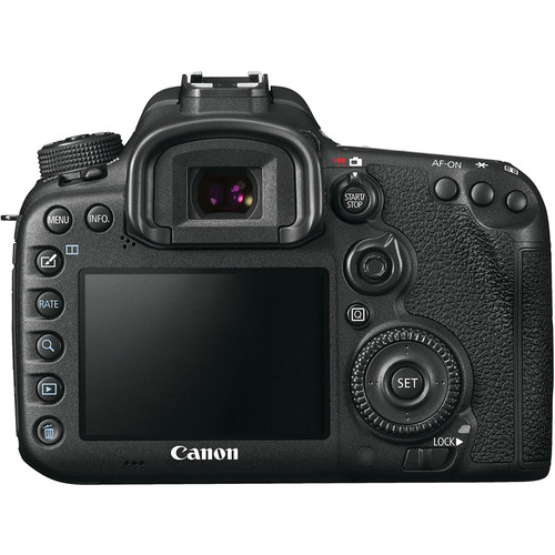 Canon Camera body back view
