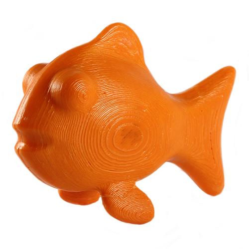 3D orange fish