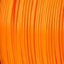 spool of orange polyprinter filament