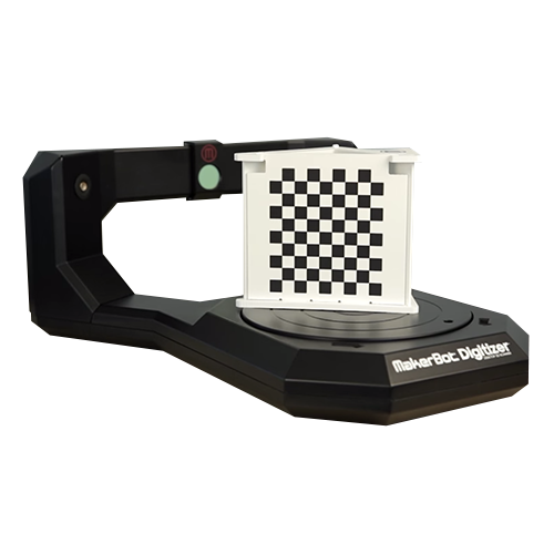 MakerBot Digitizer Desktop 3D Scanner scanning object