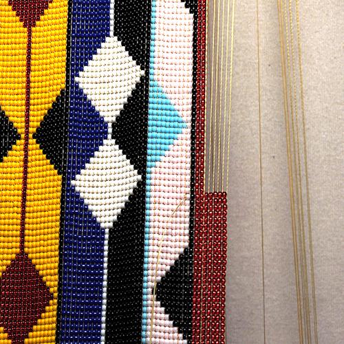 beads on a loom