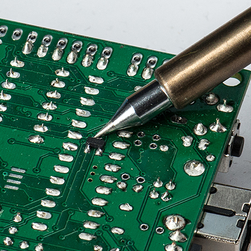tool soldering circuit board