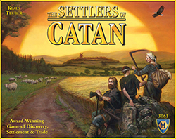 Settlers of Catan Boardgame box cover