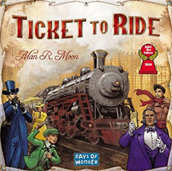 Ticket to Ride box cover