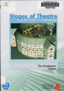 Stages of theatre: Mediaeval & Renaissance